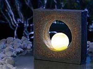 Gartenbeleuchtung Solar Kugel : lunartec eindrucksvolle skulptur mit solar led beleuchtung ~ Sanjose-hotels-ca.com Haus und Dekorationen