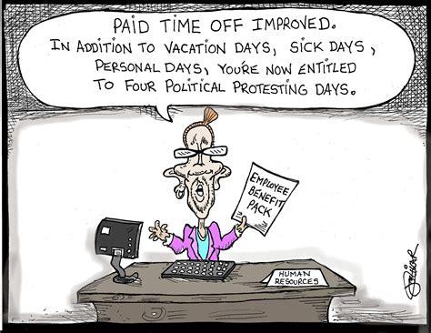 Liccar Cartoon Paid Time Off  News Seacoastonlinecom