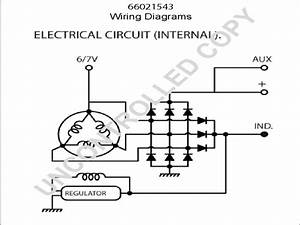 One Wire Alternator Conversion Wiring Diagram