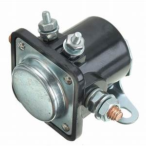 12v Starter System Solenoid Relay Contactor Switch Engine Part For 1956