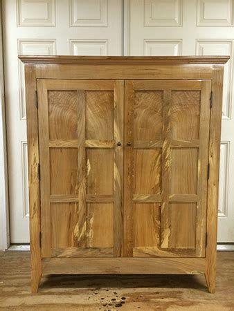 spalted maple wine cabinet woodworking blog