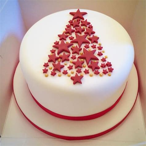 christmas cake decorations ideas  pinterest
