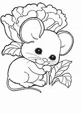 Mouse Coloring Pages Animal Mice Rat Printable Coloringpages1001 sketch template