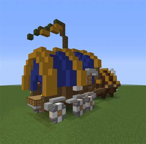 traveling merchant buffalo wagon grabcraft  number