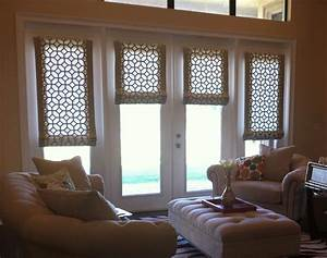 Roman, Shades, For, French, Doors