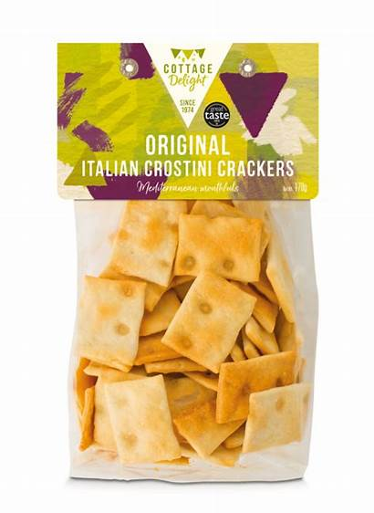 Crackers Crostini Italian Cheese Pecorino 170g Write