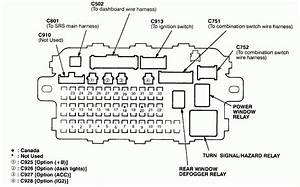 2015 Honda Cr V Fuse Diagram