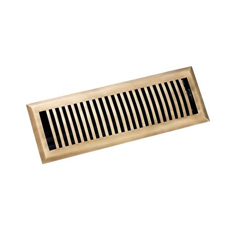 decor grates 4 in x 14 in solid brazilian cherry wood