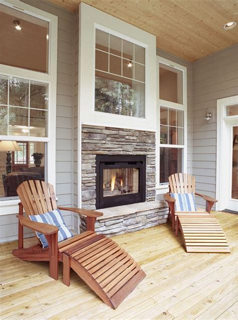 2 Sided Outdoor Fireplace - 27 gorgeous sided fireplace design ideas take a