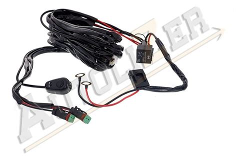 Off Road Led Light Bar Power Switch Amp Relay