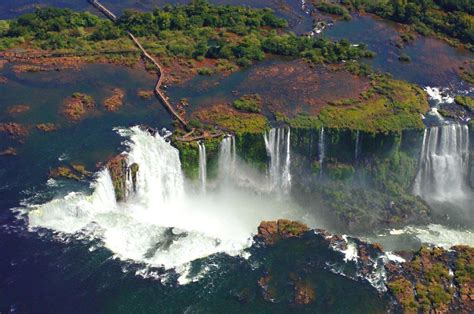 Fly To Iguazu Falls And Discover The Amazing Waterfalls