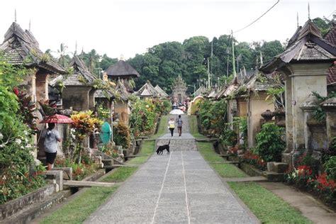 mongabay travel penglipuran desa wisata  bersih asri