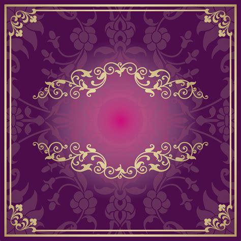 Invitation card transparent images (1,022). Purple Invitations Golden European Pattern Background Material, Purple, Invitation, Card ...