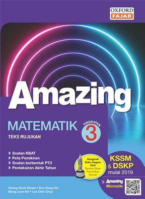 Amazing Matematik Kssm Tingkatan 3  Oxford Fajar