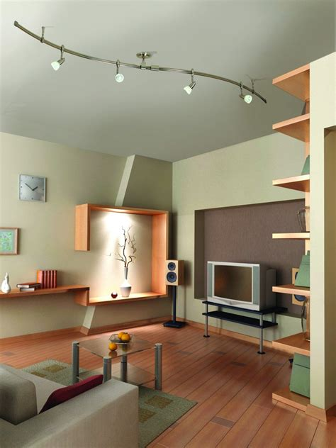 living room light fixtures different types of track lighting fixtures to install