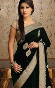 Buy Akshara TV Star Black Saree Online