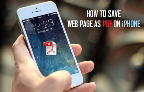 how to save a from on iphone how to save webpages as pdfs on iphone and 3utools