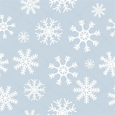 Gray Snowflake Background by White Snowflakes On Gray Background Stock Vector