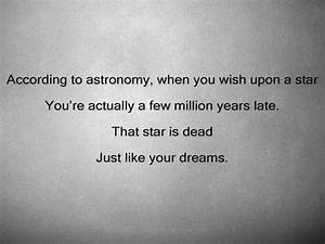 dead, dream, quote, star, text - image #456639 on Favim.com