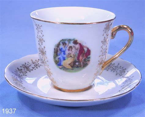 London shape with angular handle. vintage cup: NEW 572 VINTAGE PORCELAIN CUPS AND SAUCERS UK