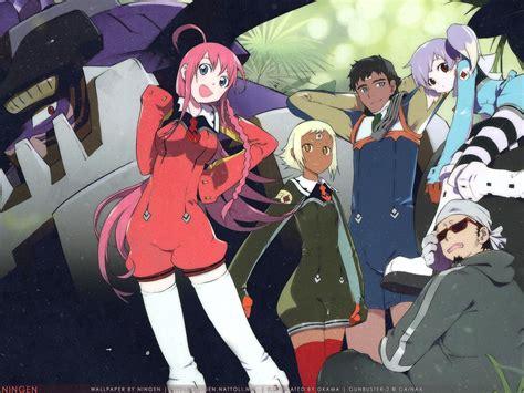 gunbuster  diebuster  anime art