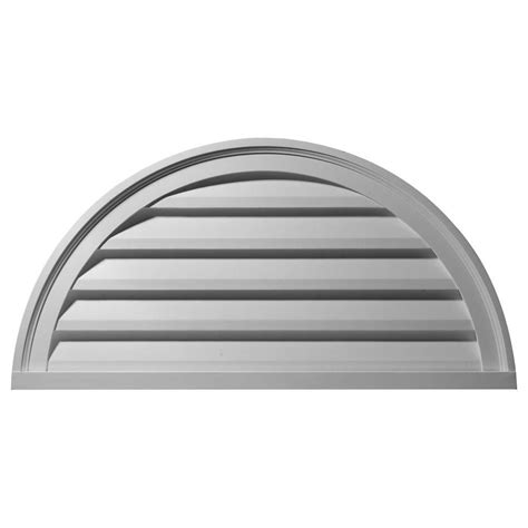 decorative gable vents nz ekena millwork 2 in x 40 in x 20 in decorative half