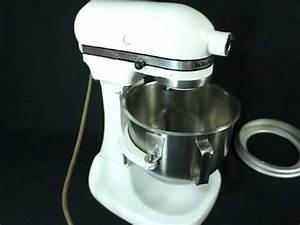 Vintage Kitchen Aid Hobart K5 A 5 Quart Mixer YouTube