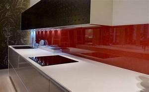Crédence Cuisine En Verre : d coupe et installation de cr dence de cuisine en verre ~ Nature-et-papiers.com Idées de Décoration