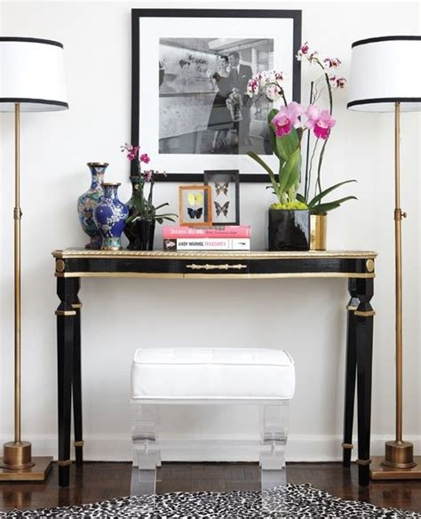 how to a console table how to decorate a console table top seeing the forest