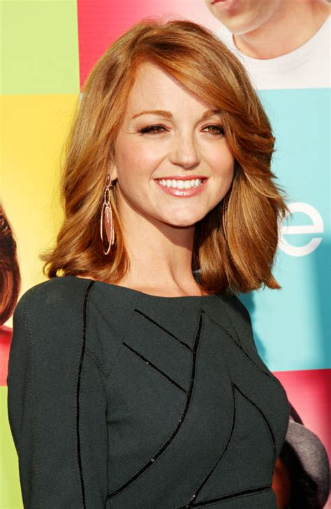jayma mays picture  foxs glee academy  evening