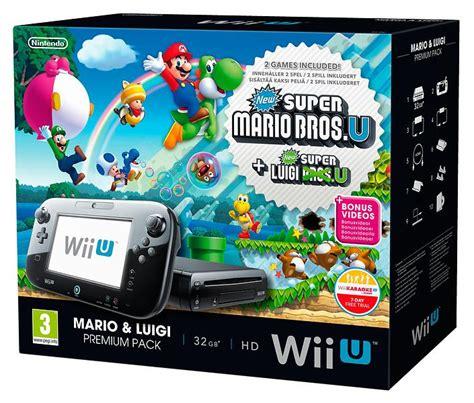 Miglior Prezzo Wii Console by Nintendo Wii U Premium Mario Luigi Bros U