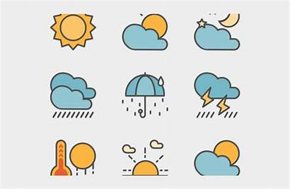 Weather Report Forecast Transparent Icons Cartoons Clipart