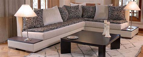 canape cuir maroc canapé fauteuil design de salon marocain
