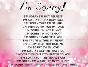 cute im sorry quotes