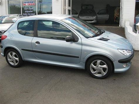 peugeot 206 xsi 2001 peugeot 206 1 6 xsi related infomation specifications