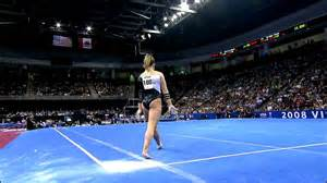 shawn johnson floor exercise 2008 visa chionships day 2