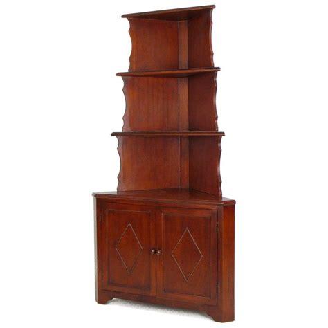 Corner Etagere Cabinet by Wayborn Corner Bookcase Bakers Rack With Storage