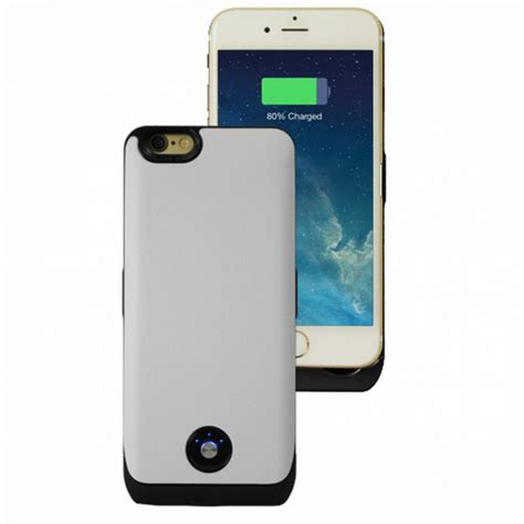 rechargeable iphone 6 mocca coque rechargeable blanc 3000 mah iphone 6