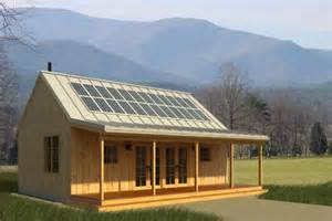 cabin designs solar panels made simple time to build