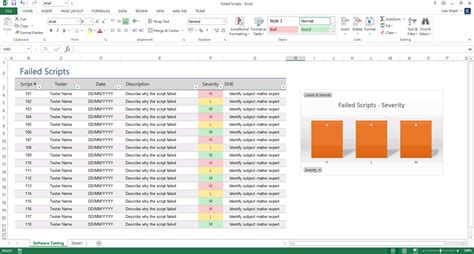 software testing templates  ms word  excel