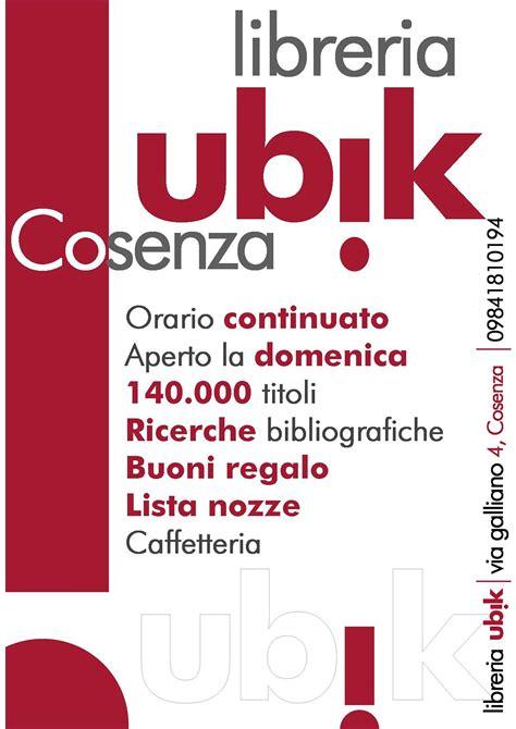 Libreria Cosenza by Libreria Ubik Di Cosenza