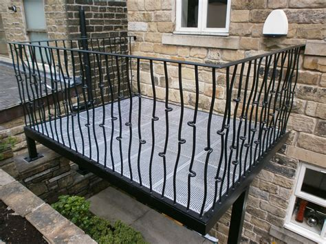 exterior wrought iron railing stair exterior wrought