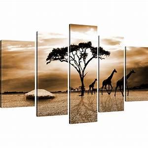 Fotos Auf Leinwand : bilder savanne in afrika bild auf leinwand giraffen wandbild landschaft kunstdru ebay ~ Eleganceandgraceweddings.com Haus und Dekorationen