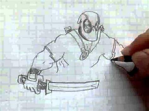 como dibujar  deadpool youtube