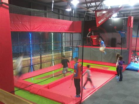 rush trampoline park cape town south africa