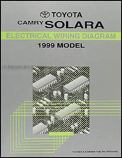 Toyota Camry Solara Wiring Diagram Manual Original