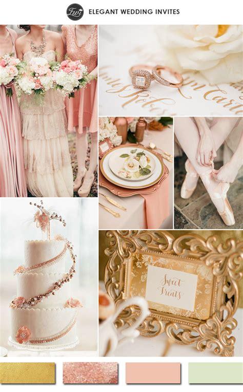 hottest gold wedding color ideas  wedding trends
