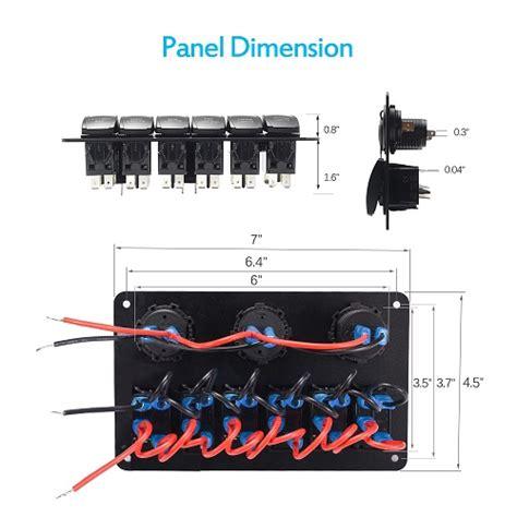 switch panel volt   switch