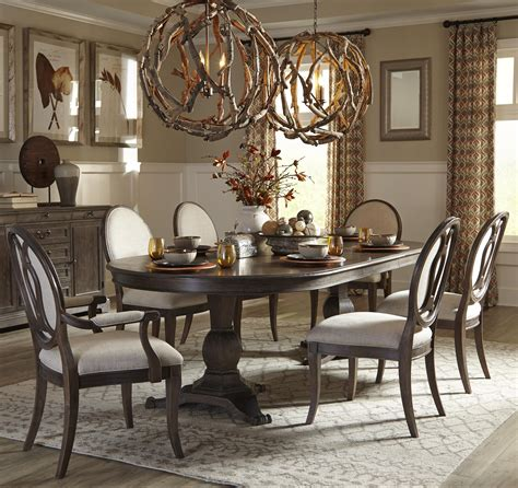 double pedestal dining table youll love