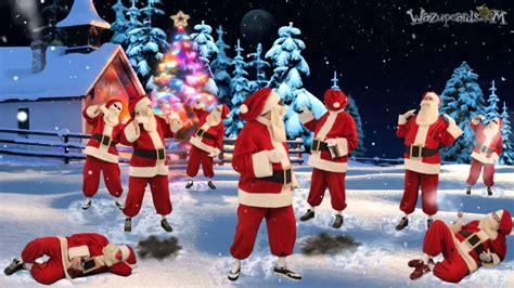 dancing santa claus merry christmas  youtube